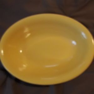 Other - Yellow oval deep dish